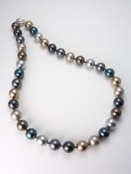 Pelosi's Pearls Necklace - Long (Swarovski crystal pearls)