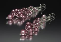 Sterling Silver Vintage Rose Glamour D'Garbo