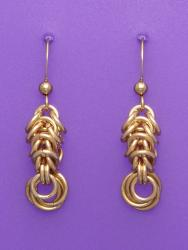 Golden Exclamation - Chain Maille