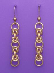 Golden Temptress Chain Maille